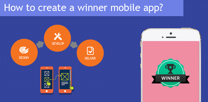 How to create a winner mobile app?