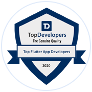 Rlogical listed among Top Flutter Developers by TopDevelopers.co