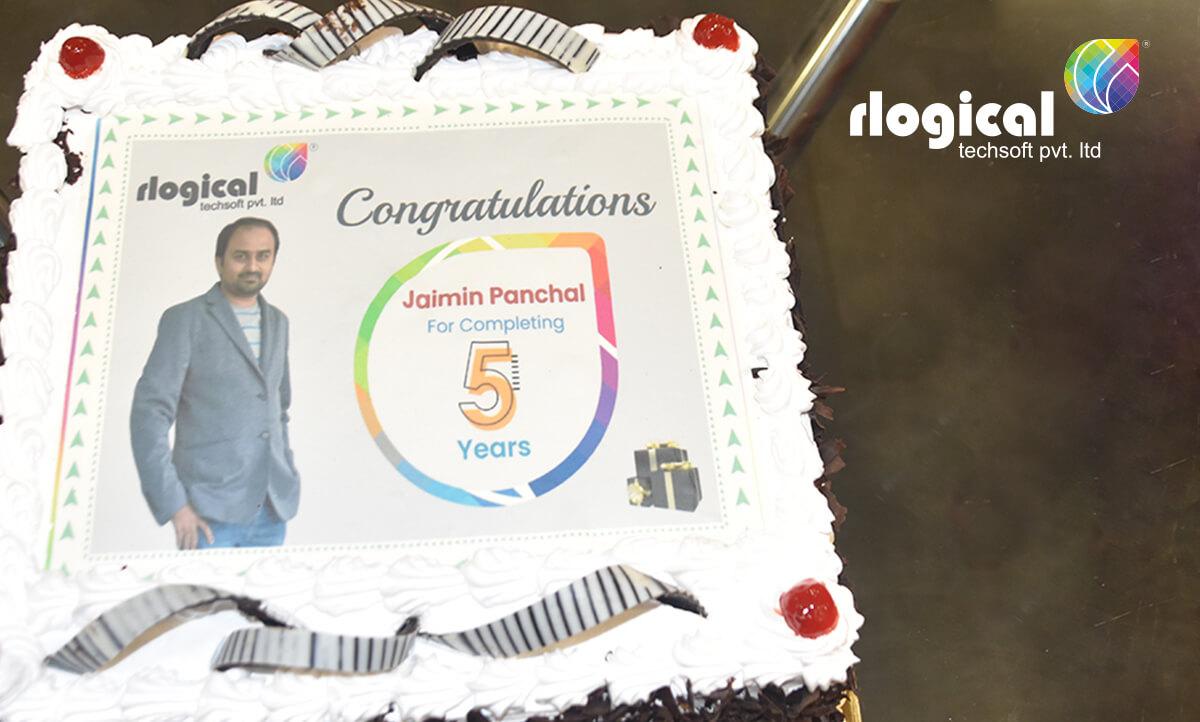 Employee 5 year celebration