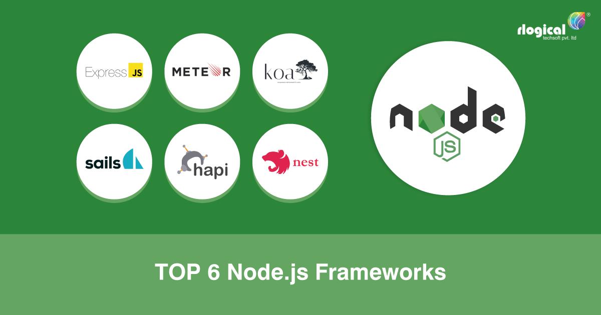 Top 6 Leading Node.JS Frameworks