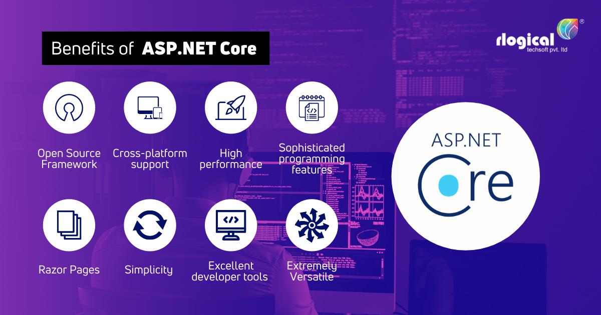 Top 8 benefits of ASP.NET Core