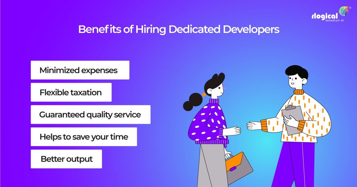 Benefits of hiring dedicated app developers