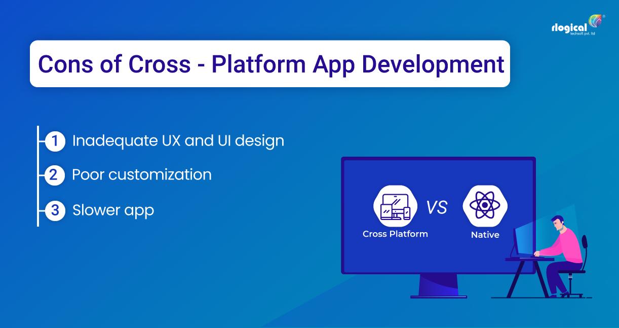 Cons of Cross-Platform App Development